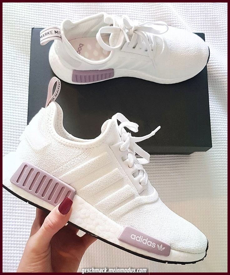 Details about Womens Adidas NMD_R1 W BB6367 Purple Trainers