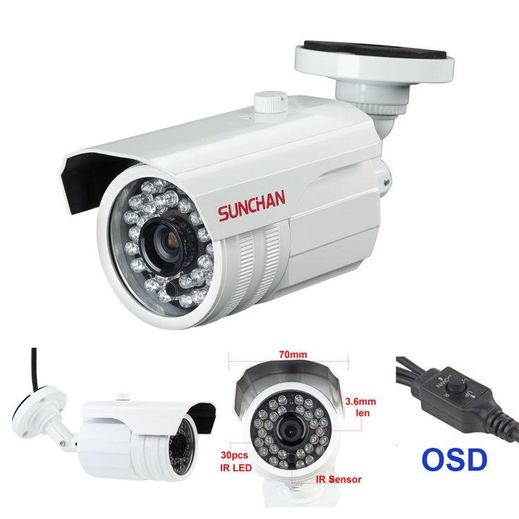 """New SUNCHAN 1080P 1/3"""" Panasonic CMOS  IR Cut Bullet CCTV Security HD-SDI Camera #SUNCHAN"""