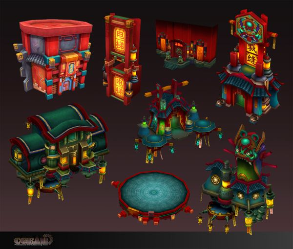 Chinese Strange Stories by Vincent Chao , via Behance