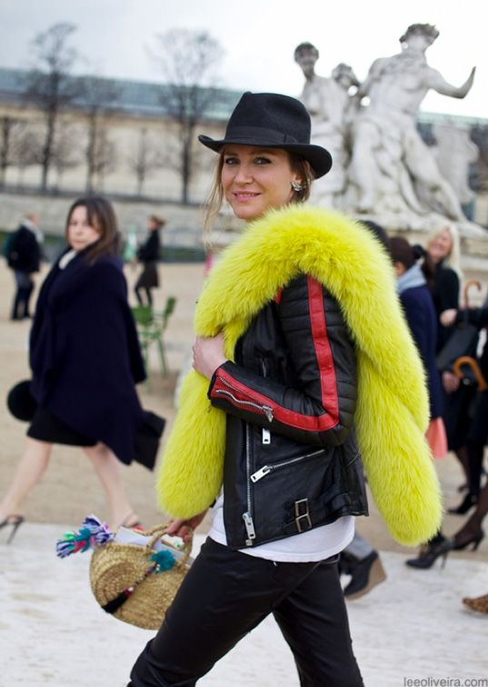 ively touchable, highly glamorous colored fur stole. (Don't throw eggs at me, PETA!). Whether the fur is real or not, it is