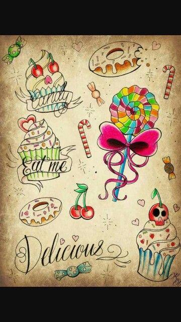 Sweet tattoo ideas