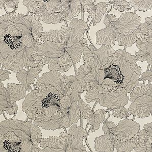 Adorable Wallpapers, Design Inspiration, Curtains, Floral Patterns, B W Floral, Art, Wallpapers Pattern, Atulya Flower, Flower Fabrics