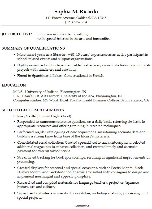 Functional Format Resume | Resume Format And Resume Maker