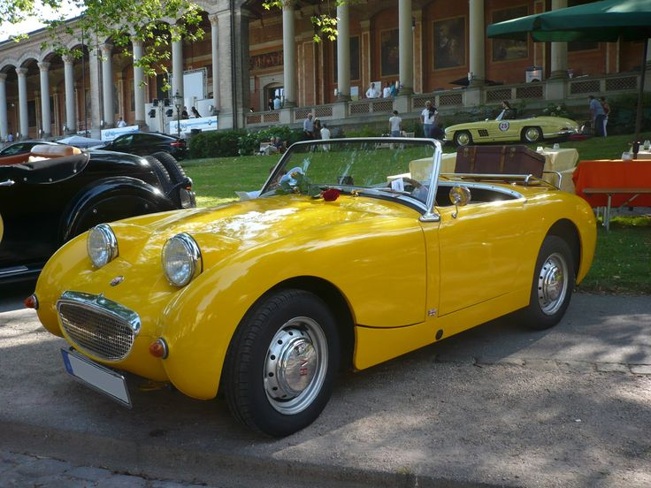 AUSTIN HEALEY Sprite MK1 roadster 1963 Baden Baden (1)