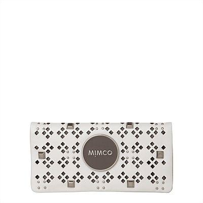 Mimco Sportstud Mim Wallet White  Eccentric Sporto #mimcomuse
