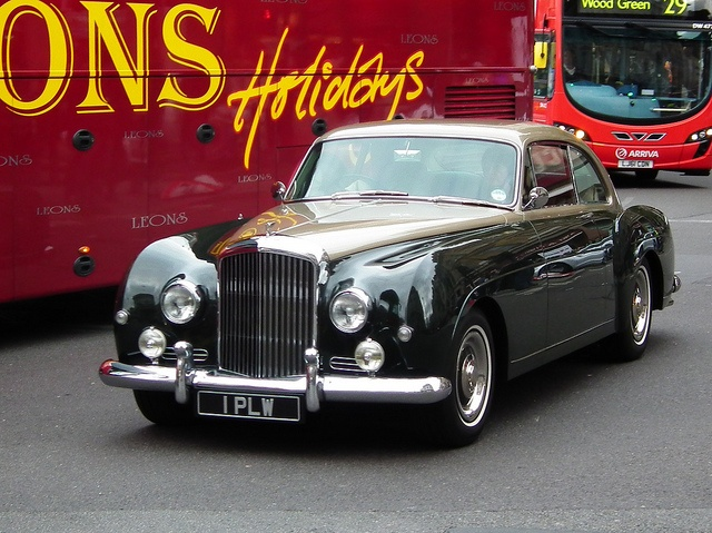 A 1958 Bentley S1 Continental Fastback Pure Class New