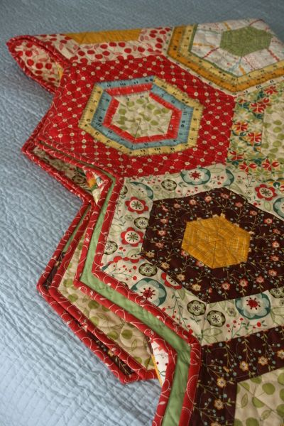 Merry go round quilt pattern by American Jane