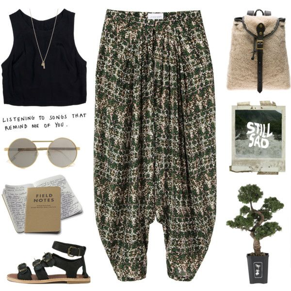 // h o w · l o n g // by theonlynewgirl on Polyvore featuring Lush Clothing, Christian Wijnants, Jas M.B., Minor Obsessions, Le Specs, Nearly Natural and beoriginal