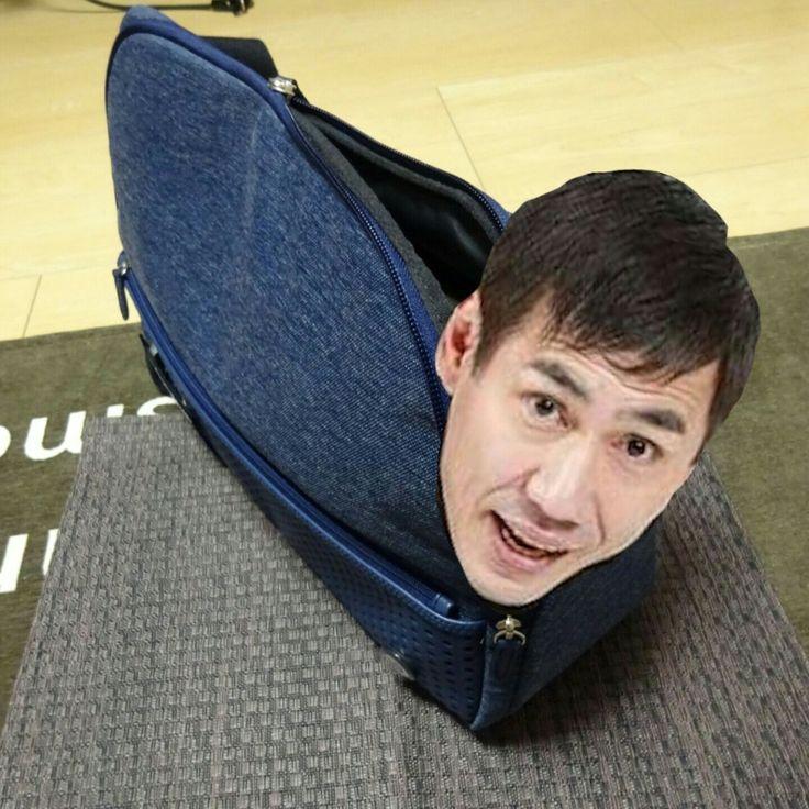 「ハイーーーー!!」 ひらくPCバッグに、エスパー伊東を入れてみました。 ひらくPCバッグの特徴のひとつに、ベ…