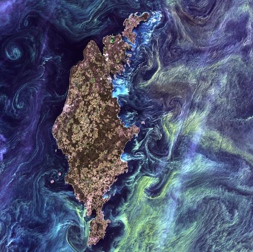 O Planeta Terra por Van Gogh