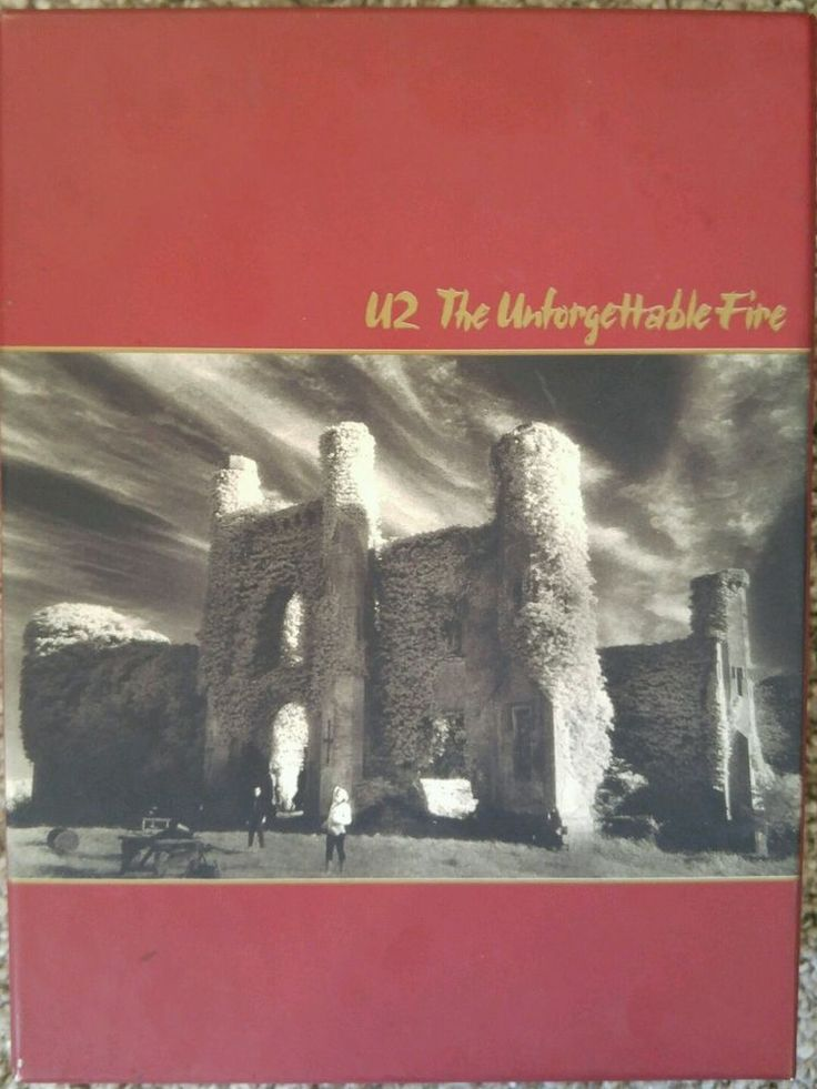U2 - UNFORGETTABLE FIRE - SUPER DELUXE 25TH. ANNIV. ED. - 2 CD + DVD  REMASTERED $34.00 #Rock #Music #U2