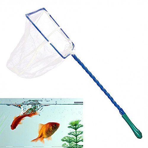"""From 1.99 Aquarium Fish Tank 3"""" 4"""" 5"""" 6"""" Fish Net Small Big Fishes Tropical Cold Water Fusion (tm)-8 X 10 Cm"""