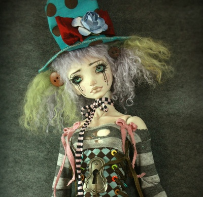 "OOAK ""Mad Hatter"" Yang Porcelain BJD Ball Jointed Doll Forgotten Hearts | eBay"