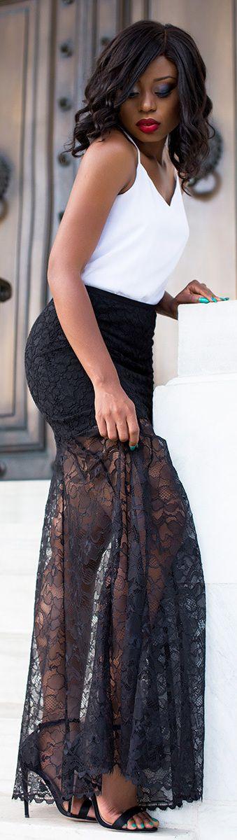 DKNY Lace /Fashion By Jadore-Fashion