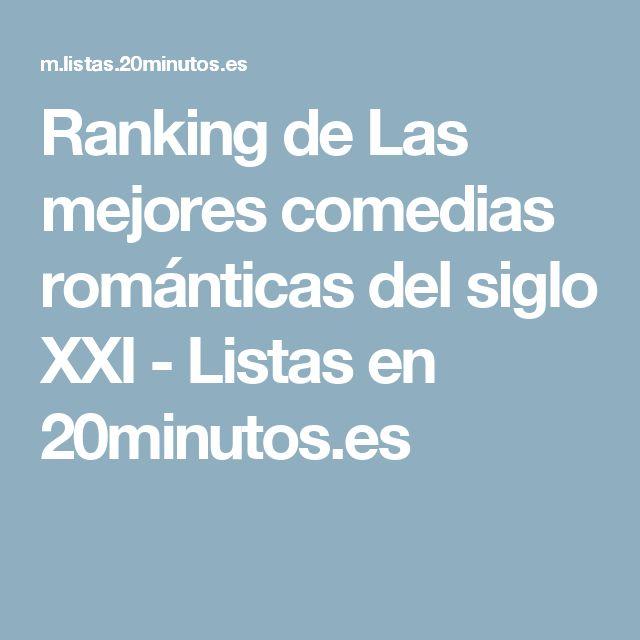 Ranking de Las mejores comedias románticas del siglo XXI - Listas en 20minutos.es