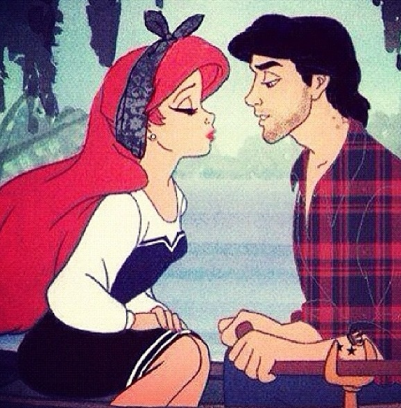 Disney gone bad but Eric is strangely more attractive