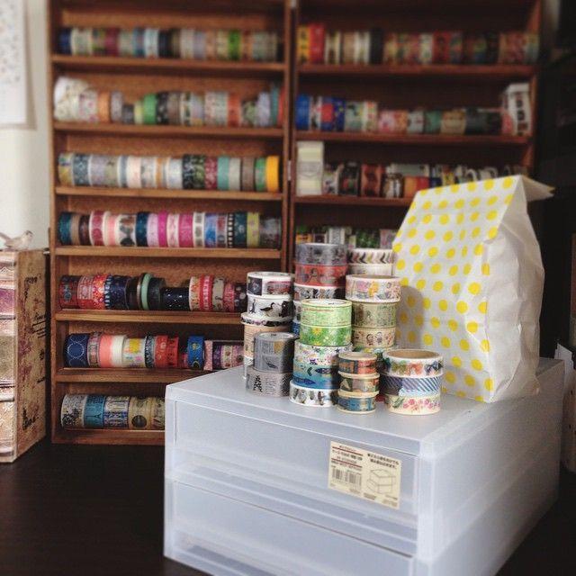 いいね!60件、コメント6件 ― fuuさん(@_fukinotou_)のInstagramアカウント: 「先日、無印良品週間だったので 思い切って購入♪ ストック分と棚に入りきらない分を収納予定( ˙灬˙ )  #マスキングテープ #マステ #maskingtape #マステ沼 #コレクション #文房具…」