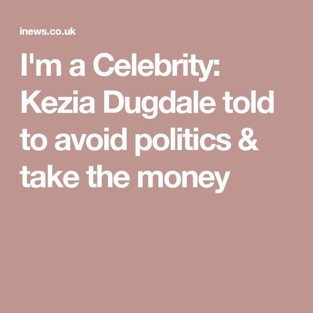 I'm a Celebrity: Kezia Dugdale told to avoid politics & take the money