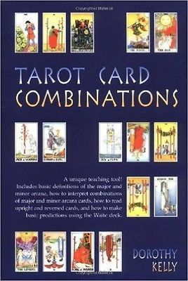 Tarot Card Combinations by Dorothy Kelly (1995, Paperback, Reprint) #tarotcardsmeaning