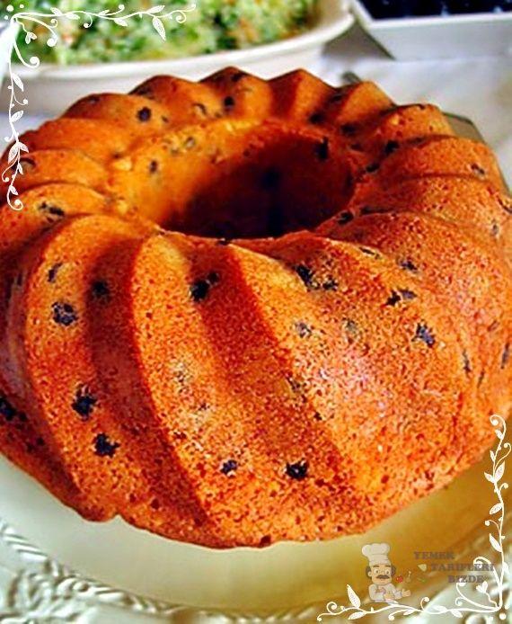 Damla Çikolatalı Üzümlü Kek Tarifi