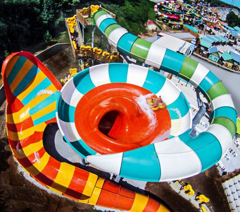 EUREKA, Mo. August 31, 2017 (STL.NEWS)--Six Flags St. Louis, the Coaster Capital of Missouri, announces Typhoon Twister, a massive new water attraction, headed to Hurricane Harbor in 2018. This hybrid, zero-gravity slide complex packs two extreme sli...