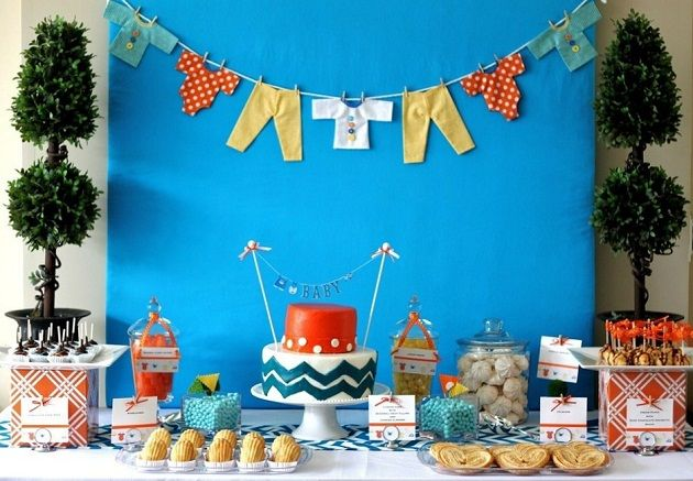 Baby Clothesline baby shower