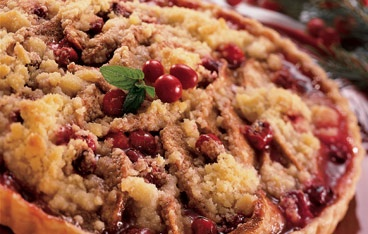 cranberry pear tart topped cranberry sweet cranberry cranberry recipes ...
