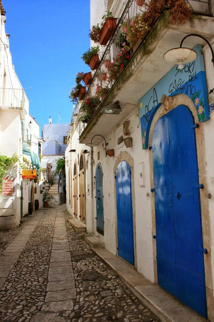 Peschici, Puglia, Italy <> Thank you for my trip Hotelrade.com  www.apuliadestination.com