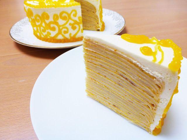 Tashcakes!: Mango Mille Crepe Cake- Recipe