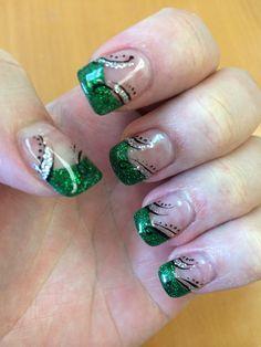 Saint Patricks day nails