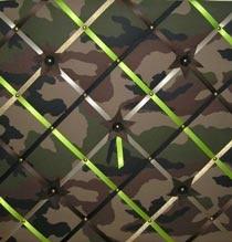 Memobord camouflage 50 x 50 cm voor G