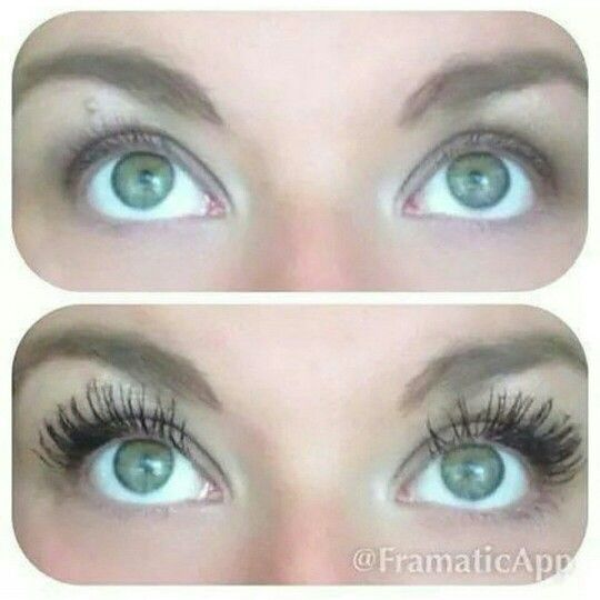 No false lashes here!!! Get this WOW factor in just three easy steps with Younique's 3D Fiber Lash Mascara!!