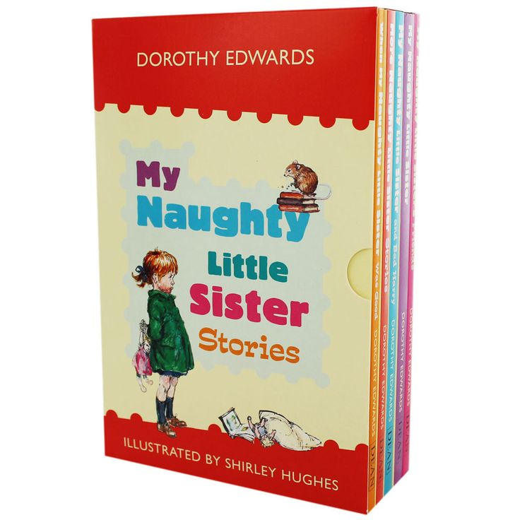 My Naughty Little Sister Stories - 5 Book Box Set