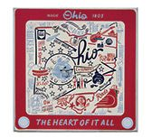 KP Creek Gifts - Ohio Dish Towel