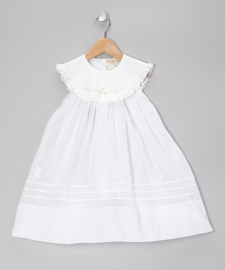 White Toddler Dress