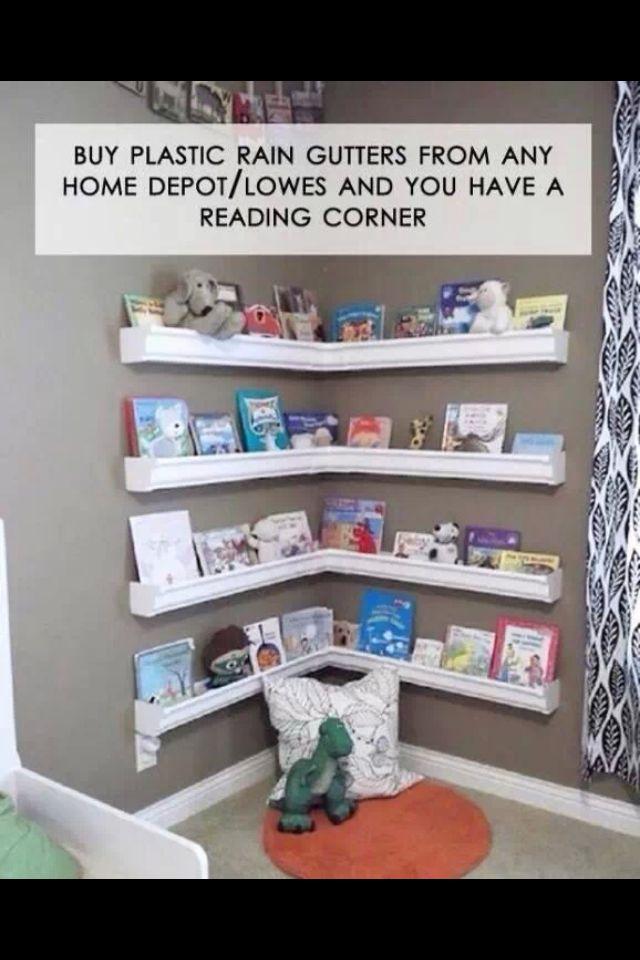 Great kids reading corner idea