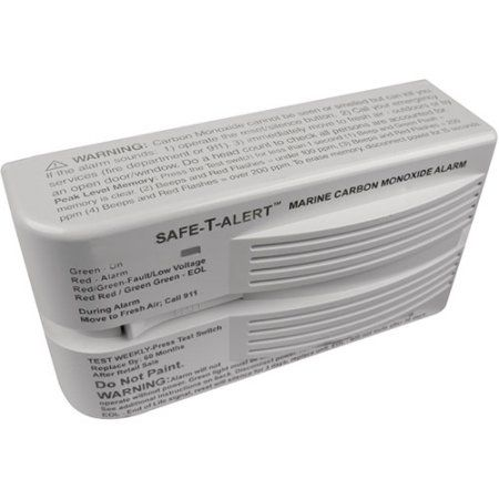 Seachoice Carbon Monoxide Alarm, White