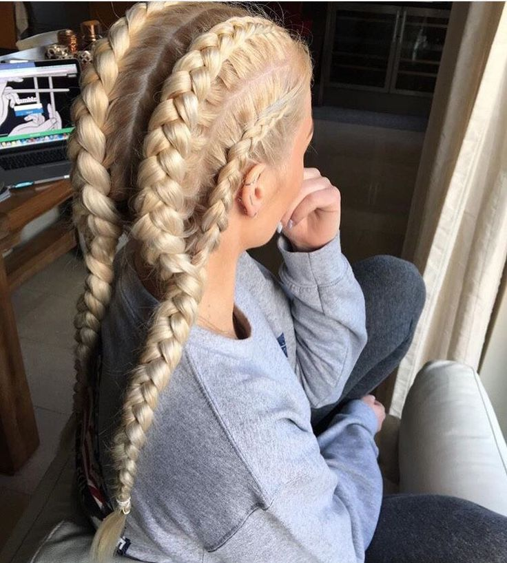 25 Best Ideas About Blonde Braids On Pinterest Pretty