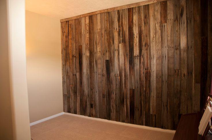Barn Wood Wall vertical vs horizontal