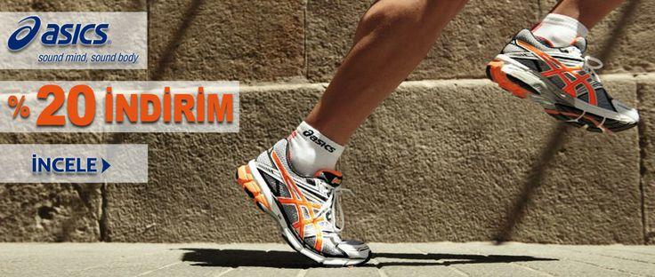 Ayakkabı Dünyası' nda indirimler devam ediyor!  Asics modellerinde %20 indirim fırsatını sakın kaçırmayın!   http://goo.gl/uhH5hr