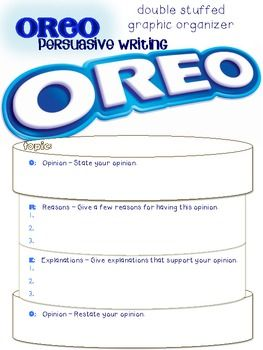 college oreo essay Read this essay on how to write an oreo come browse our large digital warehouse of free sample essays  v introduction n your preparations for college, you may .