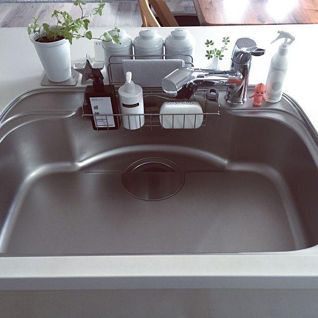 シンク周りをもっと使いやすく 目からウロコの裏ワザ10選 シンク キッチン お掃除