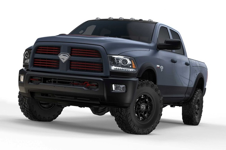 Superman's Truck! Cool 'Man of Steel' Ram Power Wagon. Find out more here...