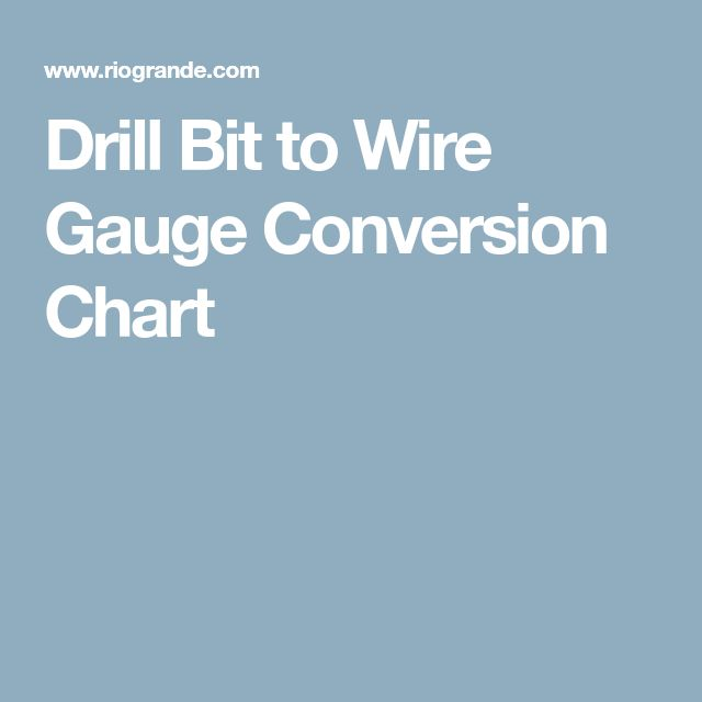 Wire gauge drill bit diameter images wiring table and diagram wire gauge drill bit diameter image collections wiring table and wire gauge drill bit diameter choice keyboard keysfo Gallery