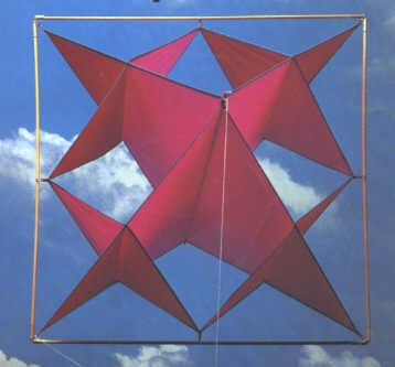 Square Snowflake Kite