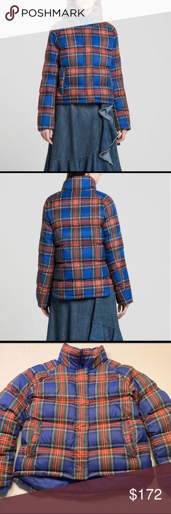 JW Anderson x Uniqlo Down puffer jacket in plaid in 2020