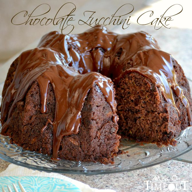 Chocolate Zucchini Cake  This mom has several great and healthy recipes for fresh garden zucchini! Y'all enjoy.