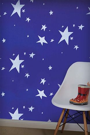 Handcrafted wallpaper by Porter's - Stars