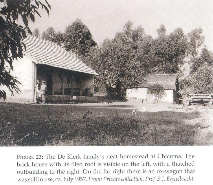 Angola Boere Plaashuis, Chicuma - 1957