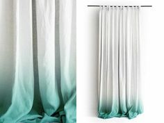 gardinen dekorationsvorschläge weiß türkis